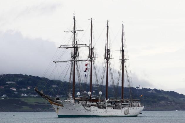 the Juan Sebastian de Elcano