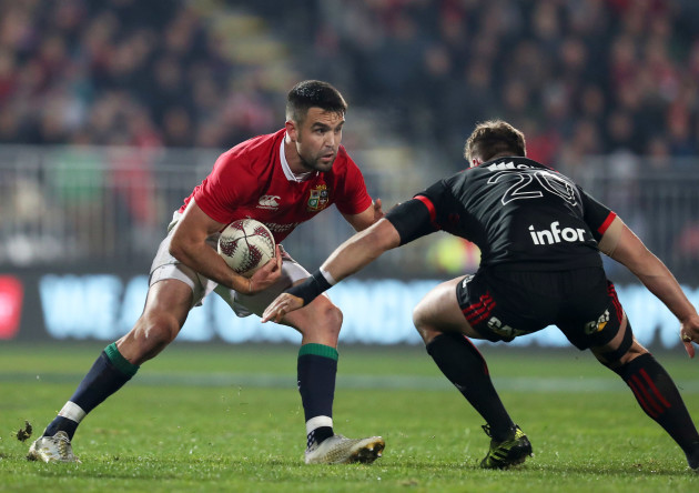 Conor Murray with Jed Brown