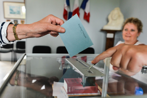 French parliamentary Elections Round One