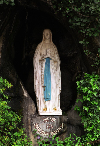 On this day in history - Bernadettes visions at Lourdes