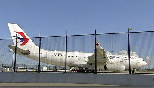 Australia China Plane