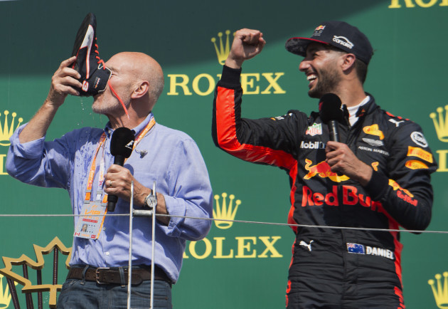 F1 Canadian GP Auto Racing