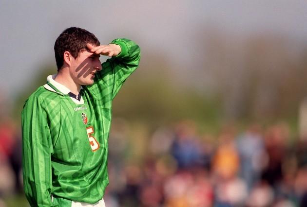 Colin Hawkins Republic of Ireland Under-21 27/4/1999