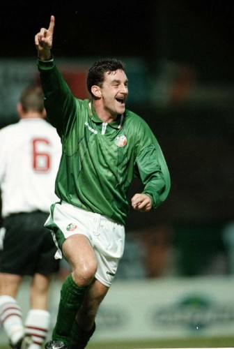 John Aldridge Republic of Ireland 7/9/94