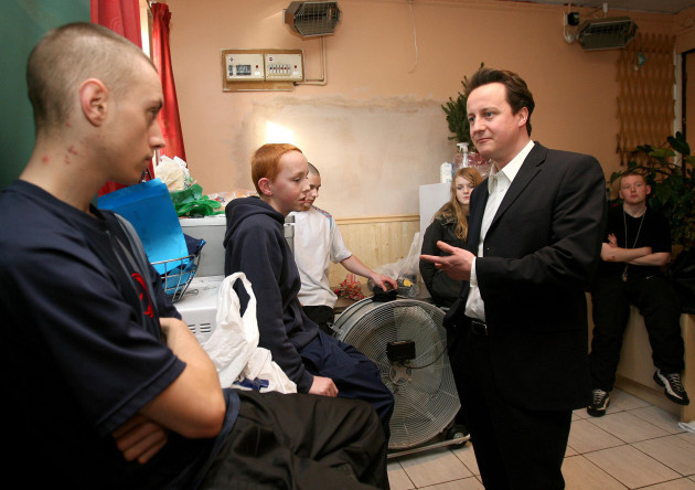 David Cameron visits Manchester