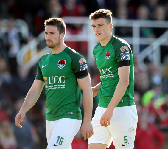 Gearoid Morrissey and Ryan Delaney