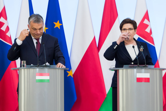 Poland: Visegrad Group Meeting in Warsaw