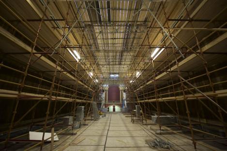 Grand Gallery, scaffolding