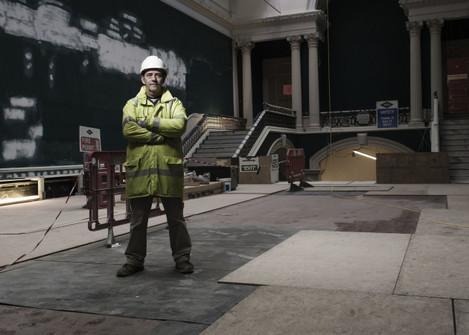 John Francis, Site Manager, John Paul Construction (photo by Matthew Thompson)