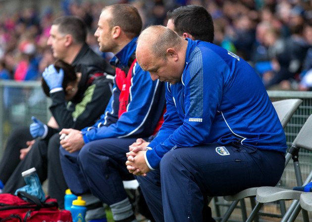 Derek McGrath dejected