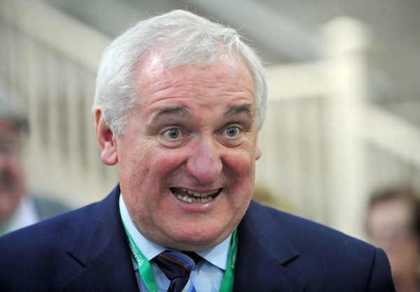 File Photo The chair of the Fianna Fail Dublin Central constituency organisation has said it will be up to former Taoiseach Bertie Ahern whether or not he wants to rejoin the party.Ê Brian Mahon said a motion had been passed this evening after a long disc