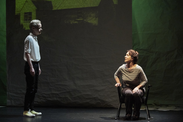 2. Noelle Brown and Bríd Ní Neachtain in POSTSCRIPT at the Abbey Theatre - Photo Ros Kavanagh