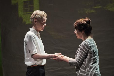 3. Noelle Brown and Bríd Ní Neachtain in POSTSCRIPT at the Abbey Theatre - Photo Ros Kavanagh