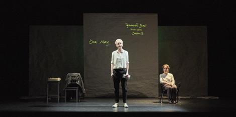 5. Noelle Brown and Bríd Ní Neachtain in POSTSCRIPT at the Abbey Theatre - Photo Ros Kavanagh