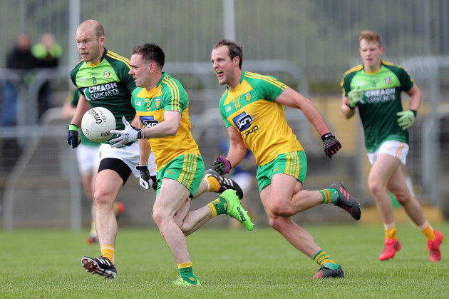 Martin Reilly and Michael Murphy with Sean McVeigh