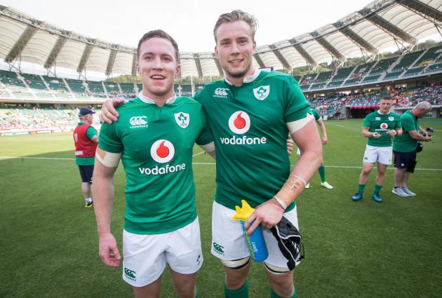 Rory O'Loughlin and Kieran Treadwell