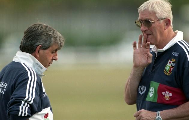 Lions' coach Jim Telfer 1997