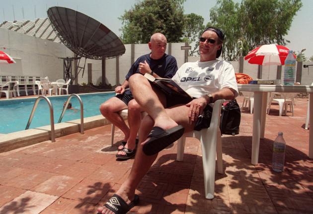 Brian Kerr, Noel O'Reilly 13/4/1999