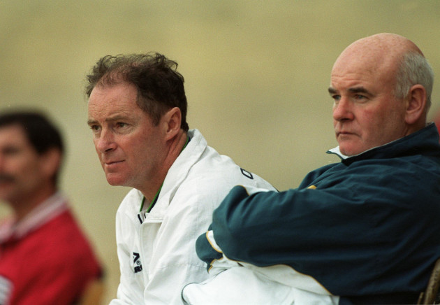 Brian Kerr and Noel O'Reilly 24/11/1999