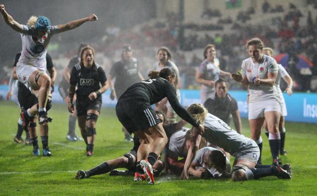 New Zealand Women v England Women - Rugby Super Series - Rotorua International Stadium