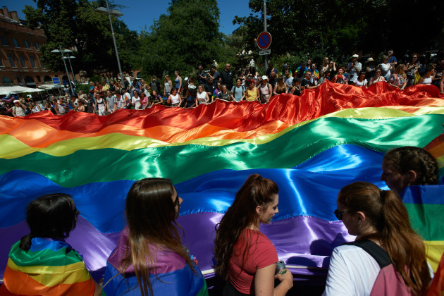 France: Gay Pride parade in Toulouse