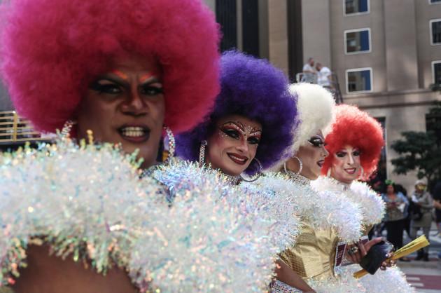 BRAZIL-SAO PAULO-PARADE-GAY PRIDE