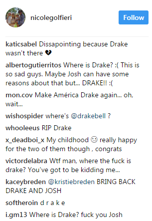 Drake Bell Wedding.Drake And Josh Are No Longer Friends And It May Ruin Your Childhood