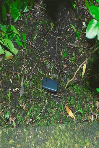 Phone at scene