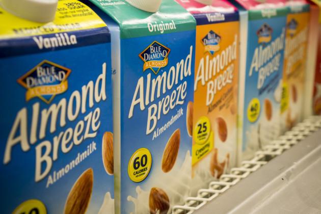 NY: Plant-based milk in the supermakret in New York