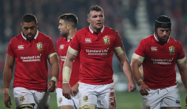British and Irish Lions Peter O'Mahony and Sean O'Brien