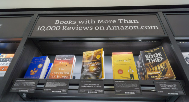 NY: Amazon brick-and-mortar bookstore opens in New York