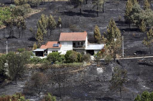 APTOPIX Portugal Forest Fires