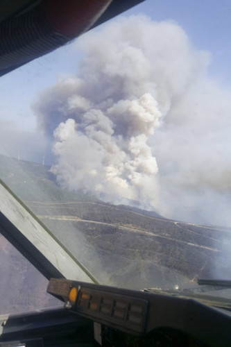 Spain Portugal Fires