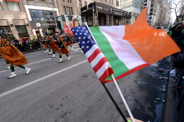 NY: 2017 Annual St. Patrick's Day Parade In NYC