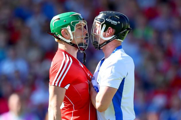 Alan Cadogan with Conor Gleeson