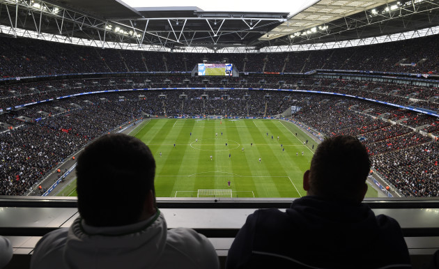 Soccer - Capital One Cup - Final - Chelsea v Tottenham Hotspur - Wembley Stadium