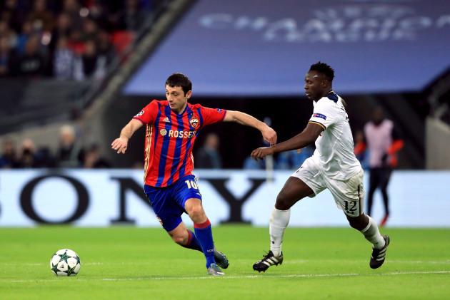 Tottenham Hotspur v CSKA Moscow - UEFA Champions League - Group E - Wembley Stadium