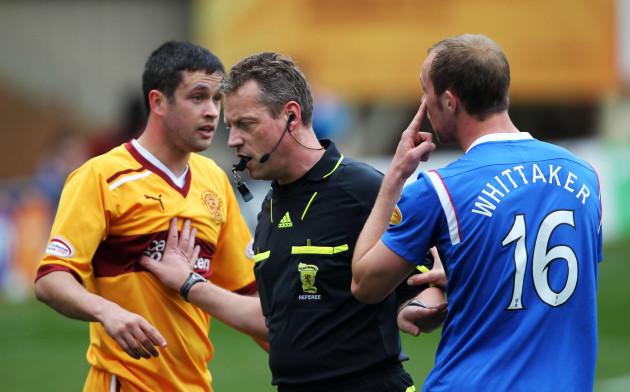 Soccer - Clydesdale Bank Scottish Premier League - Motherwell v Rangers - Fir Park
