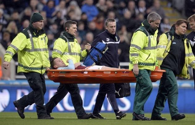 Soccer - Barclays Premier League - Newcastle United v Burnley - St James' Park