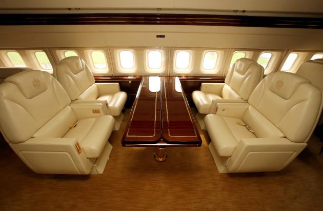 Donald Trump's private jet