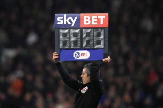 Derby County v Birmingham City - Sky Bet Championship - iPro Stadium