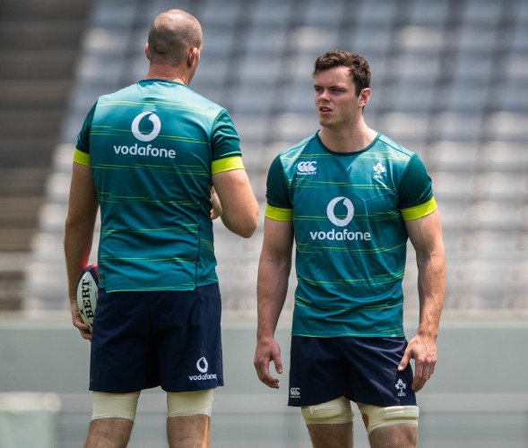 Devin Toner and James Ryan
