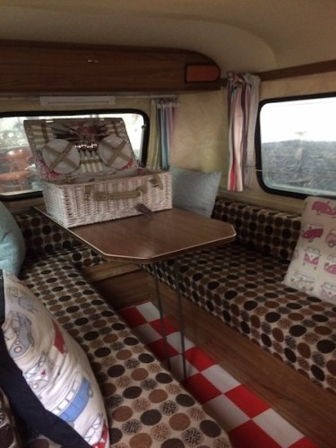 This iconic VW T2 camper comes with its own mini-caravan for