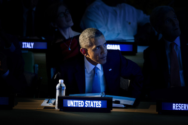 US President Obama Attends Annual UN General Assembly - NYC