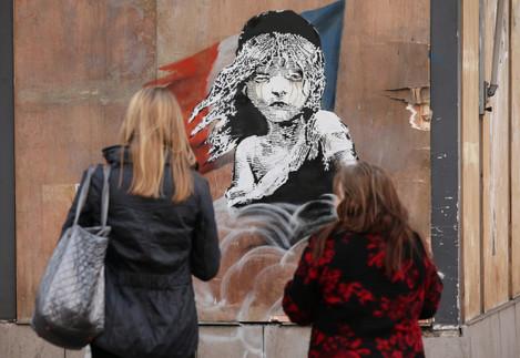 New Banksy in London