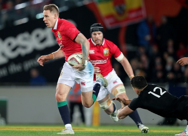 Liam Williams with Sonny Bill Williams