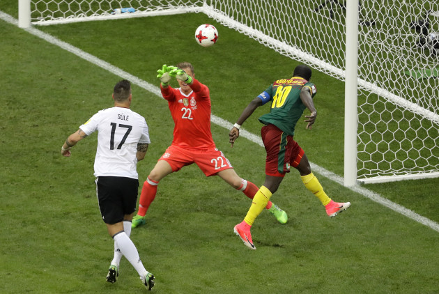 Soccer Confed Cup Germany Cameroon