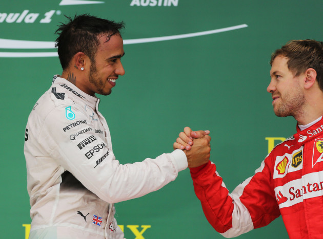 Lewis Hamilton and Sebastian Vettel rivalry