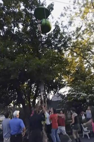 Amusement Park Fall