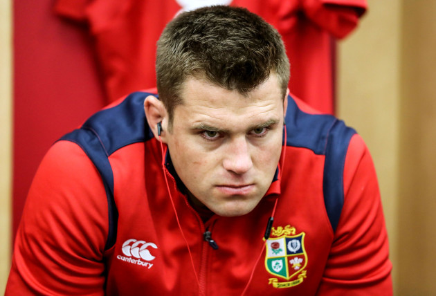 CJ Stander before the game